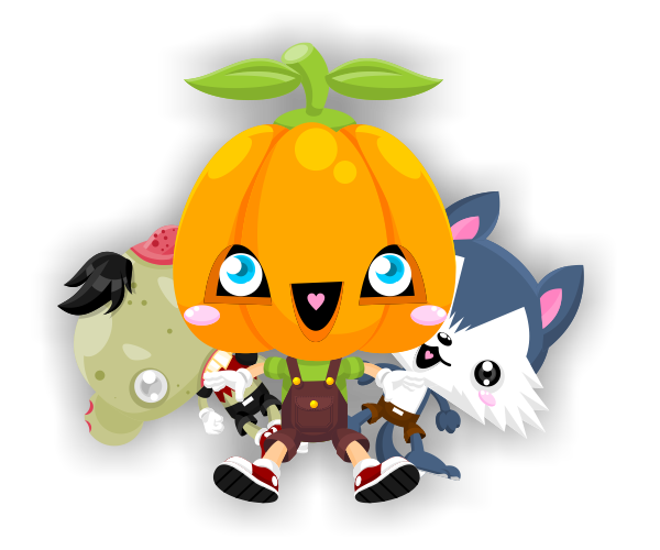Royalty Free Game Art Characters for Halloween