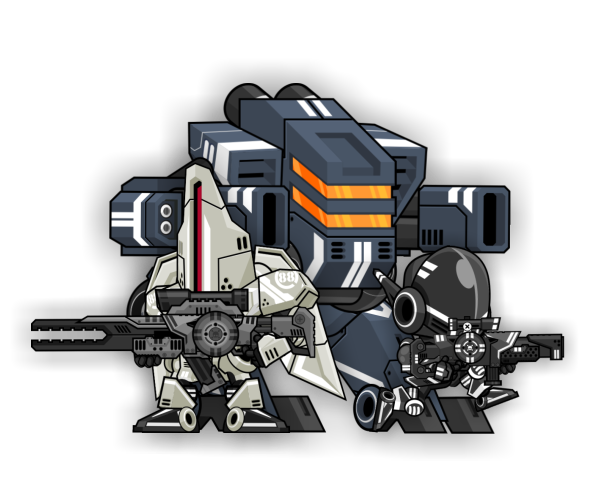 Game Art Mech Characters