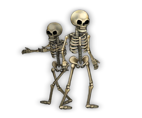 Skeleton Royalty Free Game Art Characters