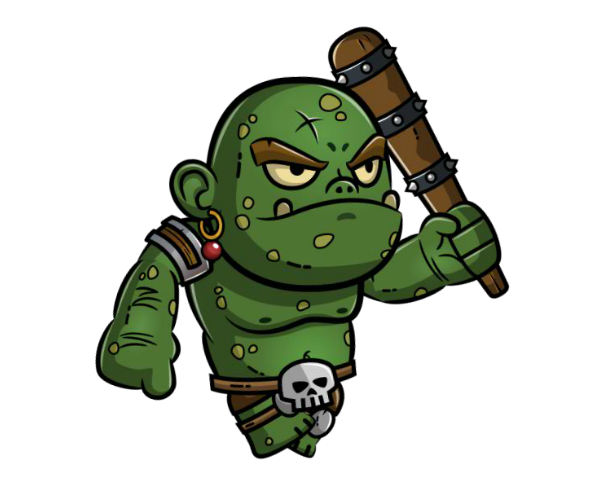 ogre royalty free game art character