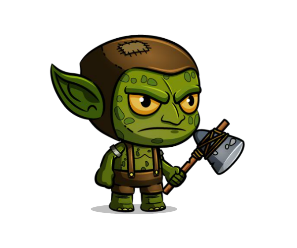 Goblin Royalty Free Game Art