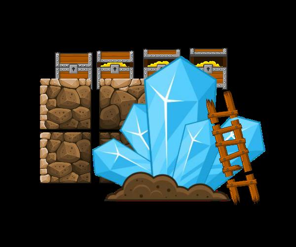 The Mines – Platformer Tileset