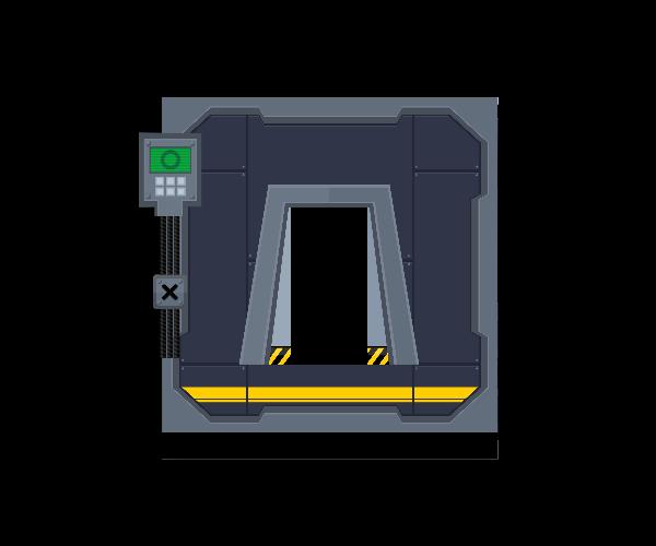 Platformer Sci Fi Set