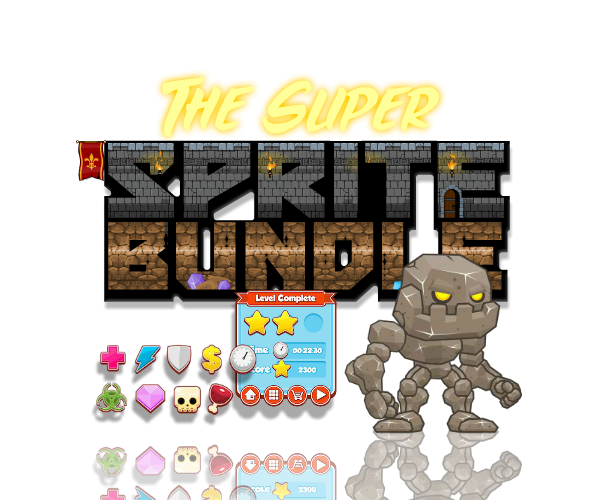 Super Sprite Bunde 1 - Collection of Royalty Free Art