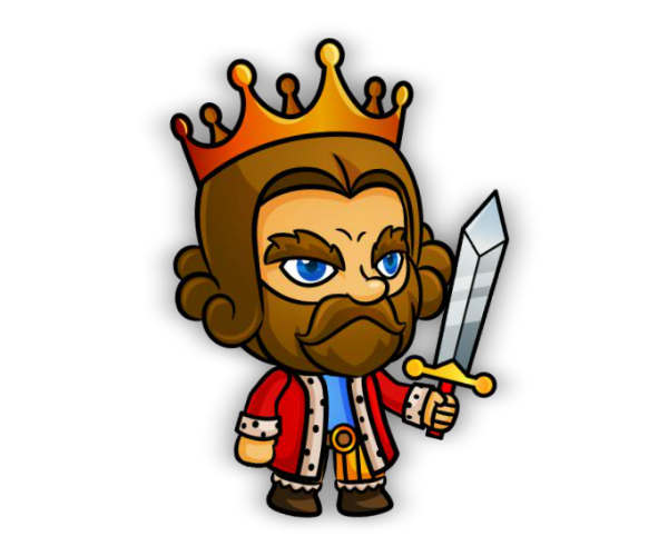 King Game Art Character