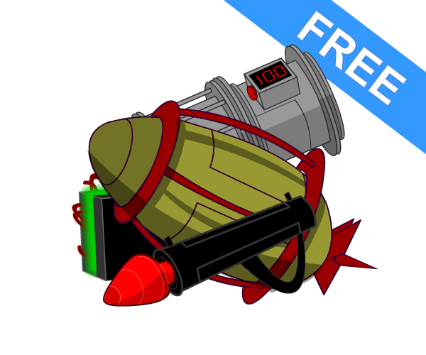 Free Weapons Game Art