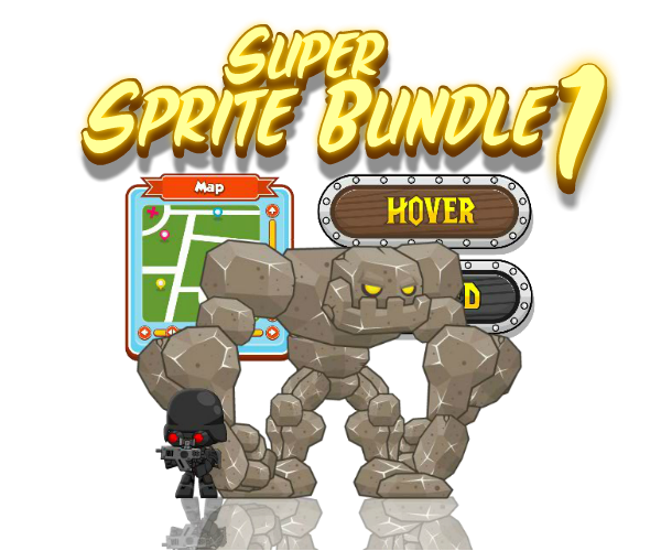 Royalty Free Game Art Super Sprite Bundle